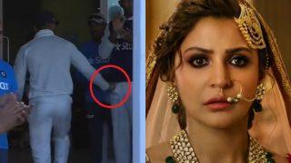 Virat Kohli hits Jayant Yadav below the belt, Anushka Sharma goes nuts! This viral video is a must watch