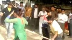 Woman thrashed for protesting against assault at Mainpuri, UP (Watch Video)