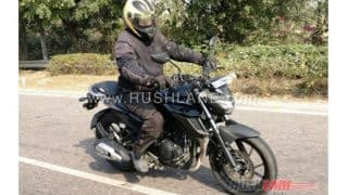 Yamaha FZ 200/250 spied in India without camouflage