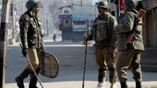 Top Army officials, Police and security agencies review security situation in Kashmir post Pampore terror attack