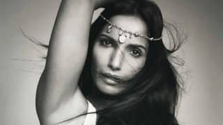 Padma Lakshmi, Top Chef Host, Poses Naked with Pizza Slices; Shares Sultry Pictures