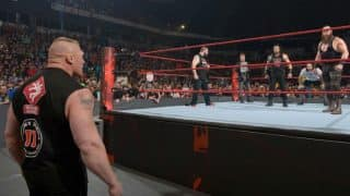 WWE RAW Results: Brock Lesnar makes appearance ahead of WWE Royal Rumble 2017