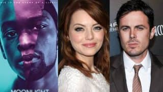 Oscars 2017 Winners Prediction: Emma Stone & Casey Affleck,Moonlight all set to win big!