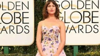 When Lola Kirke made a style statement with hairy armpits at Golden Globe Awards 2017