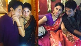 FIR actress Kavita Kaushik and Ronnit Biswas's haldi and mehndi ceremony Instagram pictures out!