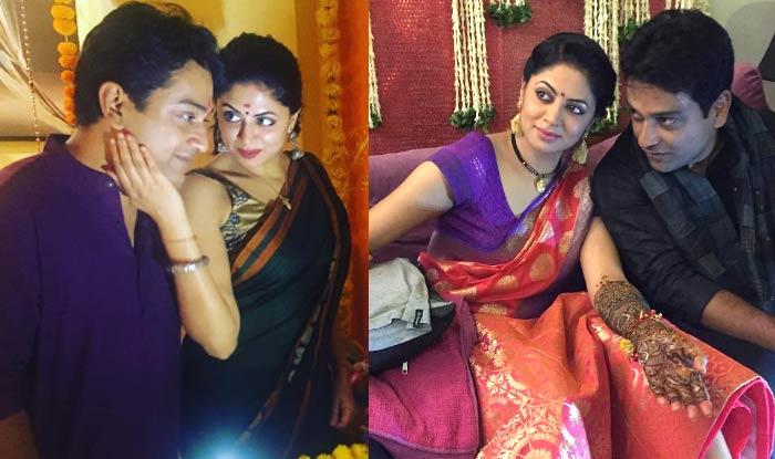 Mehndi Ceremony Sms : Fir actress kavita kaushik and ronnit biswas s haldi