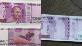 मध्य प्रदेश: बैंक से मिले 2000 रुपए के नोटों से गांधी जी गायब
