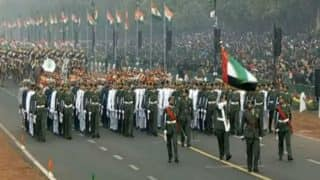 Republic Day: For first time UAE military contingent participates in parade at Rajpath