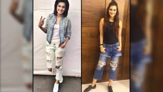 Style File: Kriti Sanon and Taapsee Pannu go chic in severely distressed denims! Who wore it better?