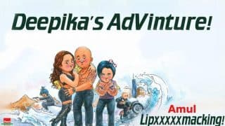 Amul captures Deepika Padukone's Lipsmacking Adventure with Vin Diesel!