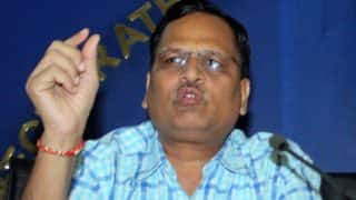 Satyendar Jain hits out at Najeeb Jung, sees attempt to settle scores