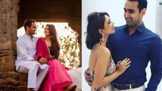 Roadies contestant Pooja Banerjee and beau Sandeep Sejwal's pre-wedding photoshoot will make you smile