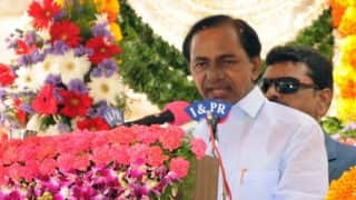 Telangana to introduce Bill for 12 per cent Muslim reservation in budget session, says K Chandrasekhar Rao; BJP objects