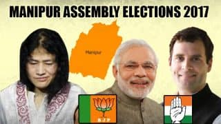In Manipur Assembly elections, the BJP might take a walk down the 2012 memory lane