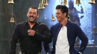 Shah Rukh Khan and Salman Khan's reunion on Bigg Boss