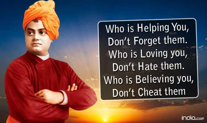 Quotes Vivekananda Entrancing Swami Vivekananda 154Th Birth Anniversary 9 Quotes From The Great
