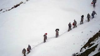 Four Soldiers, Two Porters Dead After Avalanche Strikes Army's Patrol Team in Siachen Glacier
