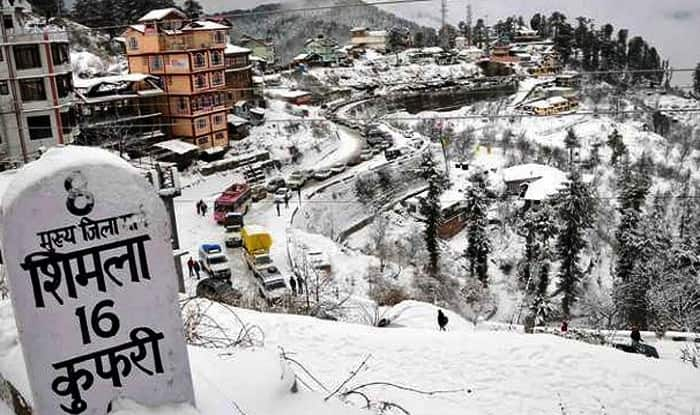 Image result for snowfall in himachal