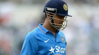 Watch: Crowd roars as MS Dhoni walks out to bat at Brabourne stadium during India A vs England warm up match