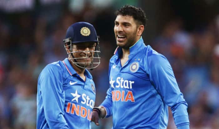 Dhoni and Yuvraj last played for India in the Champions Trophy. (Getty Images)