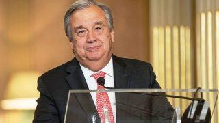 New UN chief Antonio Guterres seeks allies in businessat Davos
