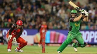 BBL 2016/17: Watch free live streaming of Melbourne Renegades vs Melbourne Stars BBL T20 match