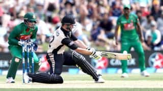 NZ won by 27 runs | Bangladesh vs New Zealand 3rd T20 2017 Live Score: BAN 167/6; target 195