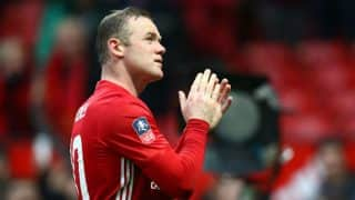 Wayne Rooney levels with Sir Bobby Charlton as Manchester United's all-time top scorer