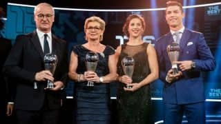 FIFA awards: Cristiano Ronaldo, Claudio Ranieri scoop top awards