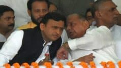 Akhilesh Yadav turns soft, says relation with father Mulayam Singh can never be broken