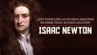 Isaac Newton's 374th birth anniversary: Top 11 quotes by the scientist, astronomer and physicist