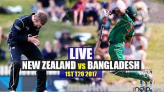NZ won by 6 wickets | Bangladesh vs New Zealand 1st T20 Live Score: NZ 143/4 after 18 Overs; Target 142