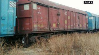 Karnataka: Goods train derails near Hubli station; more details awaited