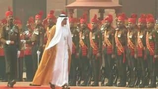 UAE Crown Prince Sheikh Mohammed Bin Zayed Al Nahyan accorded ceremonial reception at Rashtrapati Bhawan