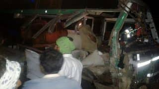 Chhattisgarh: 5 dead, more than 25 injured after tractor and bus collide in Gariaband