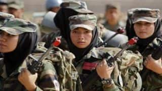 Afghanistan urges more women to join national army