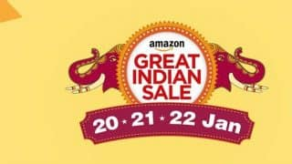 Amazon Great Indian Sale begins - Moto G4 Plus, OnePlus 2, Lenovo Zuk Z1, iPhone 5s available with huge discounts