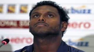 Not afraid of losing captaincy, says Angelo Mathews