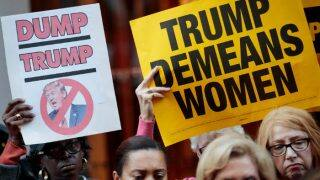Thousands turn out for anti-Donald Trump protests in UK