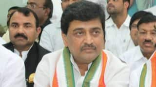 Maharashtra: Former CM Ashok Chavan attacked with ink by disgruntled Congress worker during Nagpur rally