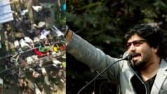 Babul Supriyo claims Trinamool workers trying to break into his…