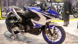 2017 Bajaj RS 200 with Racing Blue colour option launched in India at INR 1.47 lakh