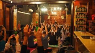 Beer Yoga is the next big trend for fitness freaks and it is going international!