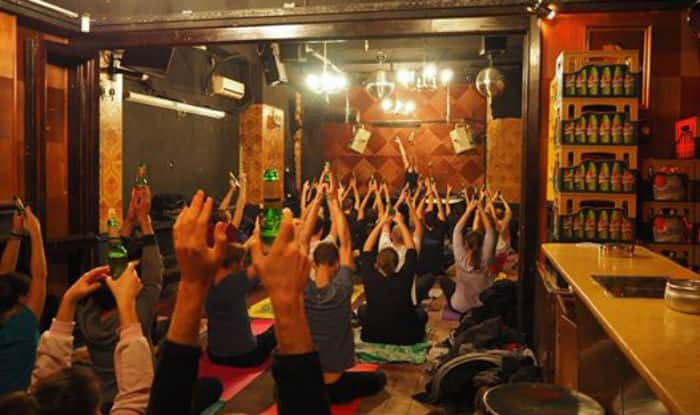 Beer Yoga Is New Fitness Program Craze