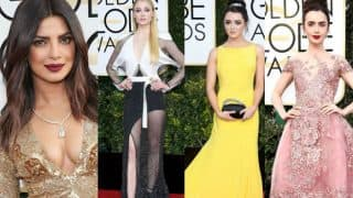 Golden Globe Awards 2017: Priyanka Chopra the BEST DRESSED along with Blake Lively, Mandy Moore, Natalie Portman & Lilly Collins!