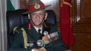 Army not against Kashmiris, our job is to target terrorists: General Bipin Singh Rawat