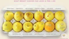 These viral images of lemons are helping spread message of breast cancer