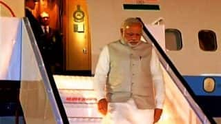 Narendra Modi reaches Bengaluru, set to inaugurate the 14th Pravasi Bharatiya Divas
