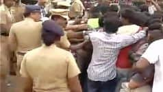 Jallikattu row: Protesters say will commit suicide if forcefully removed from Marina Beach