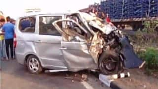 Gujarat: Six dead after car collides with tempo in Valsad